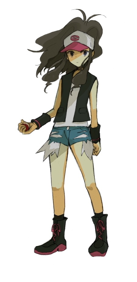 Headcanon time based on my experience with Bw. I think Hilda is a smart, strong trainer and a good friend. She's generally composed and is very close with her Pokemon, her friends, an her brother Hilbert. She admires N and wants to break through his shell and be his first real human friend.