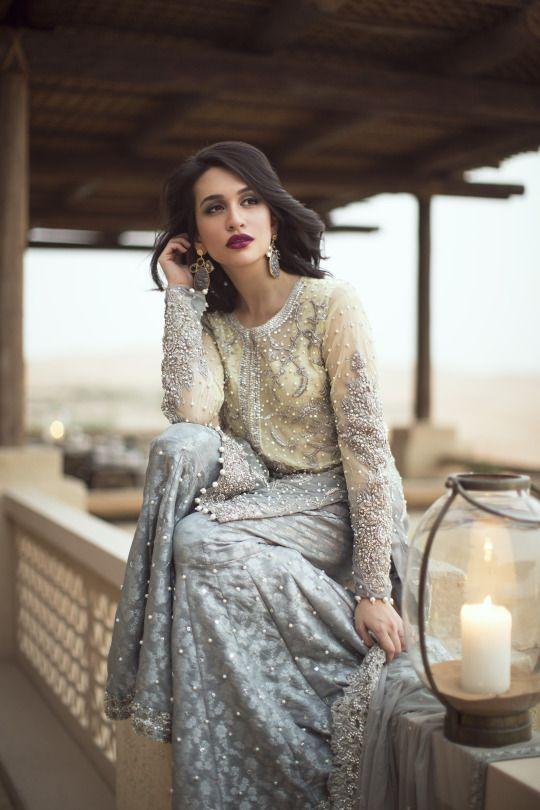 Pakistani couture Ansab Jahangir Zahira Bridals F/W 2016