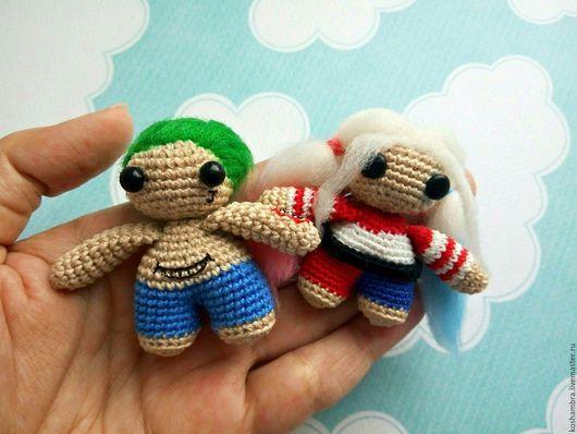 Toy Miniatures handmade. Livemaster - handmade. Buy Joker and Harley Quinn (Suicide Squad).Joker, 14 february
