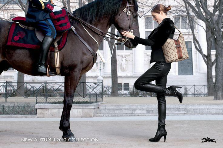 LongchampFashion, 2012 Collection, Advertis Campaigns, Fw 2012, Fall 2012, Autumn 2012, Longchamp Fw, Coco Rocha, 2012 Campaigns