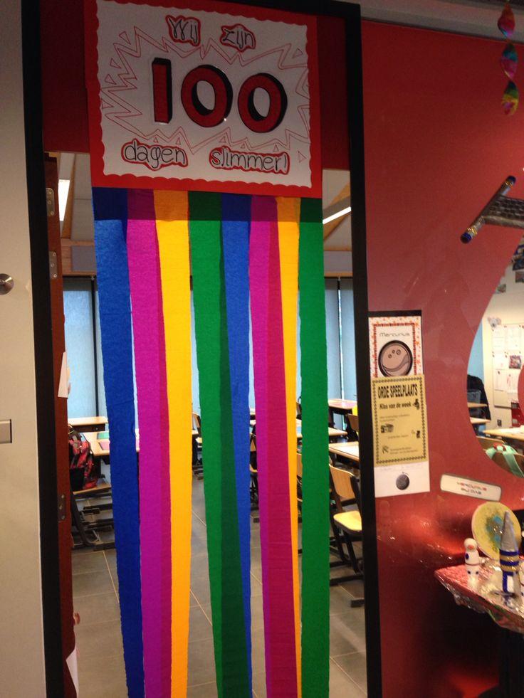 100 dagen school!