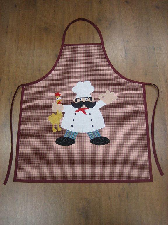 las 25 mejores ideas sobre delantales originales en On patchwork cocina patrones