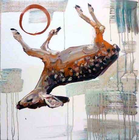 Hung Liu @ Rena Bransten | Squarecylinder.com – Art Reviews | Art Museums |