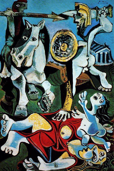 Picasso: L'enlèvement des Sabines (1963)