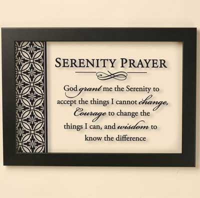 Serenity Prayer Wall Art 20 best serenity prayer gifts images on pinterest | serenity