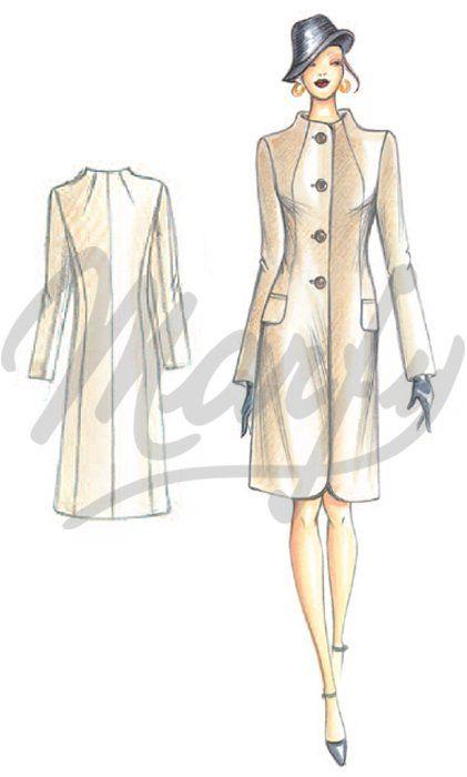 Sewing pattern Coats / Overcoats / Jackets 2888