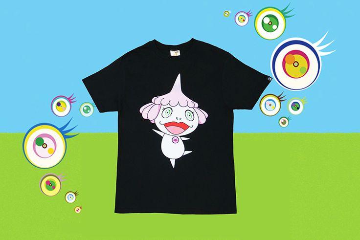 Billionaire Boys Club x Takashi Murakami 'JELLYFISH EYES' Screening  T-Shirt