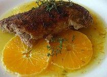 Lahůdková kachna na pomerančích