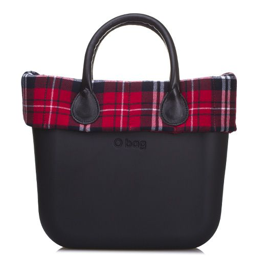 O Bag Tartan Milano