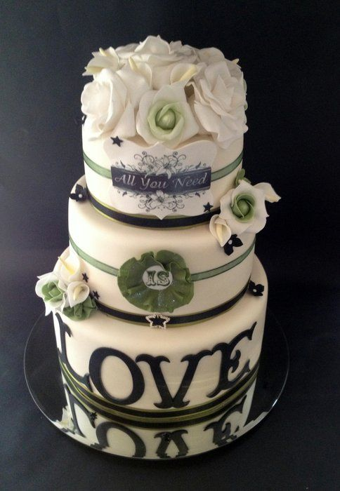 Lily Rose Cake Design : 598 best images about Wedding cakes & desserts:) on ...