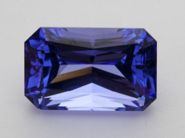 8.4ct Certified Blue Rectangle Tanzanite (PG-30-23-RG)  NATURAL TANZANITE GEMSTONE  FROM GEMROCKAUCTIONS.COM