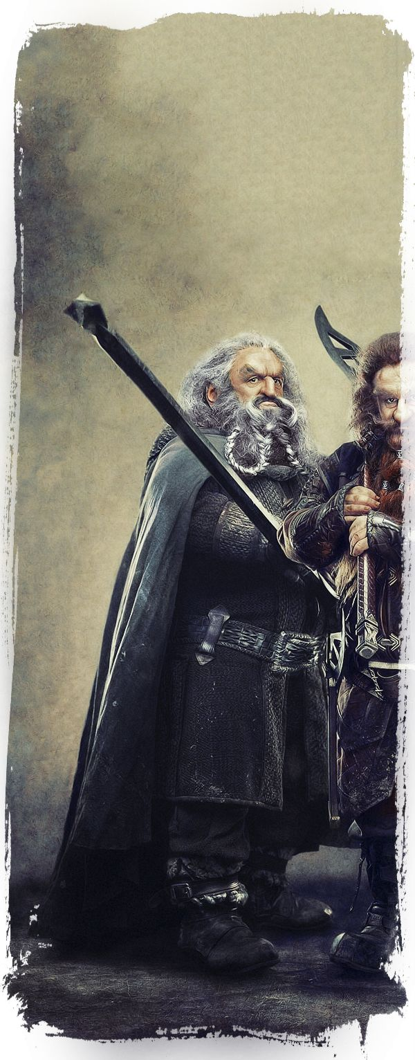 The Dwarves Of The Hobbit on Behance