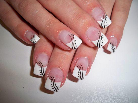 Nageldesign anleitung nageldesign pinterest nail french for Pinterest nageldesign