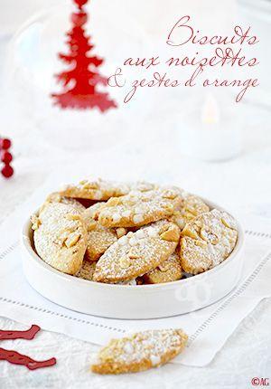Alter Gusto | Biscuits aux noisettes Corses & zestes d'orange pour mon ami Eugène… -