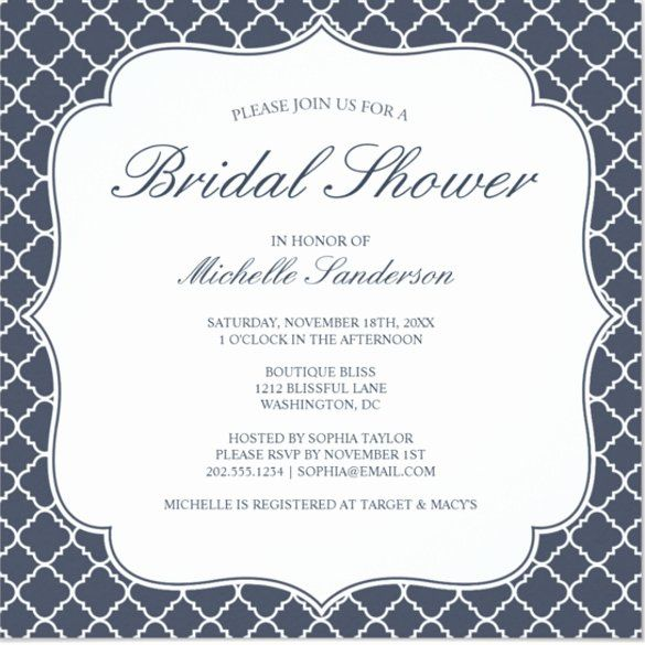 New formal Invitation Template Word in 2020 | Party invite ...