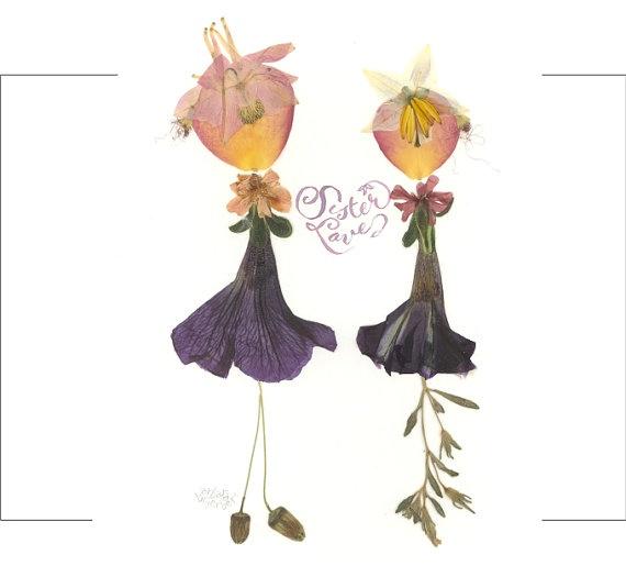 Pressed Flower Sisters: