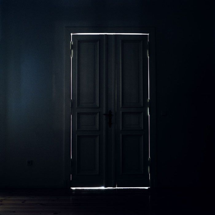 christina dimitriadis.  A DARKENED DOOR...... THE VERY NATURE OF BLACK