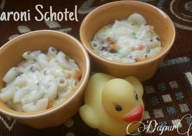 Macaroni Schotel MPASI 1+ (tanpa susu)