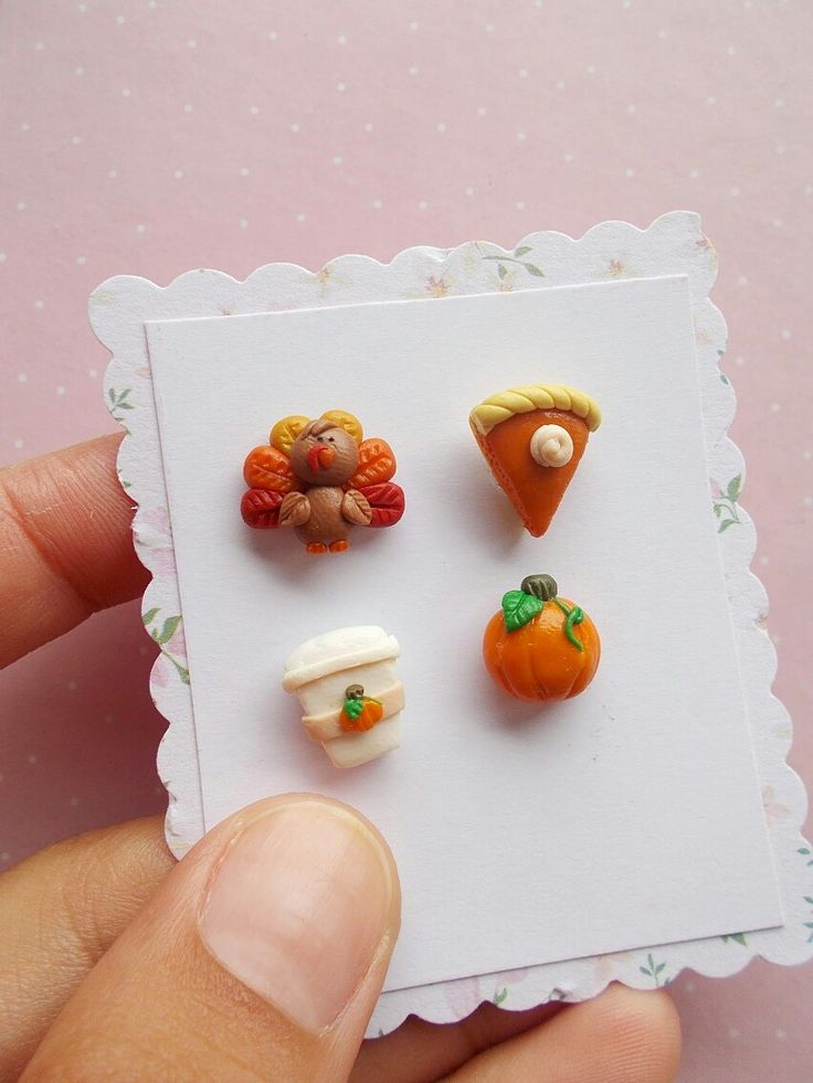 Excited to share the latest addition to my #etsy shop: Thanksgiving Earrings Set - Thanksgiving Jewelry - Stud Earrings - Pumpkin Spice Earrings - Pie Earrings - Harvest Fall Gift http://etsy.me/2yx44lB #thanksgiving