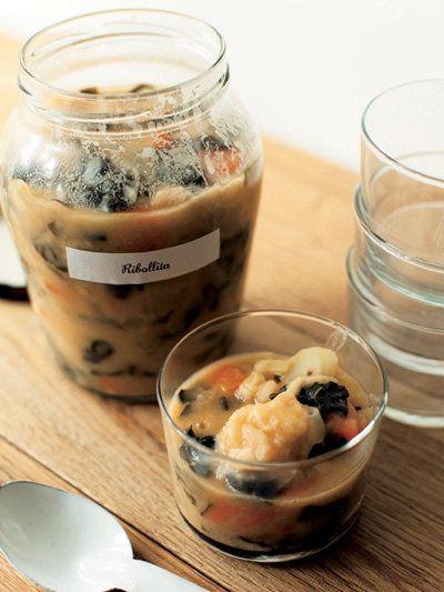 Recipe : リボッリータ(トスカーナ風田舎スープ)/野菜たっぷりの贅沢スープ。 #Recipe #レシピ