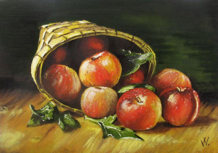 Apples by methosw.deviantart.com on @deviantART