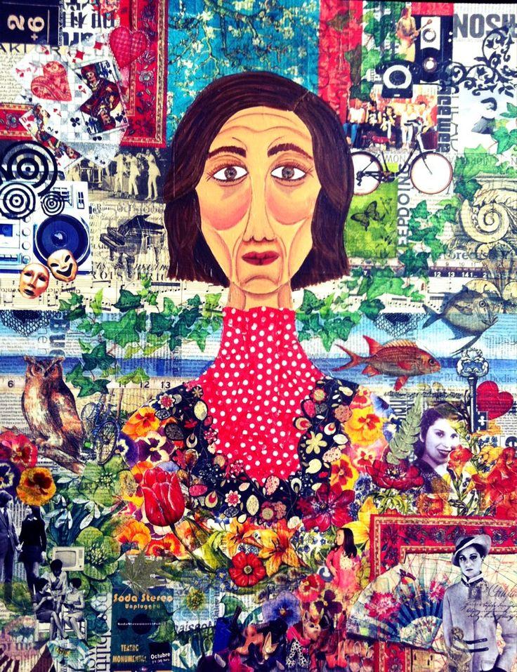 Collage Lorena Córdova - Yo