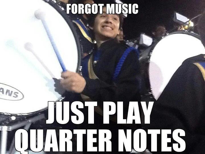 Drumline Problems. I do this sometimes
