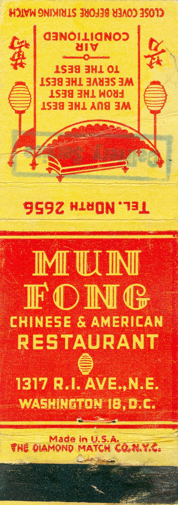 114 best historic washington dc matchbook covers images on