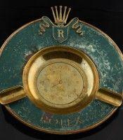 Rare 1950's ROLEX ashtray posted