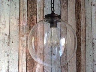 Mr Ralph - Glass Globe pendant 25cm, Pendants