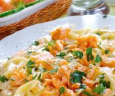 Butterfly Pasta with Salmon Sauce | Official Thermomix Recipe Community