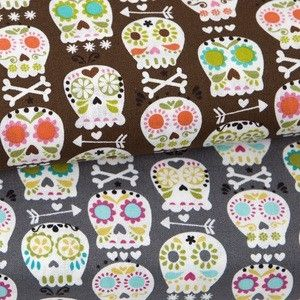 Bonehead fabric by Michael Miller by sherrie