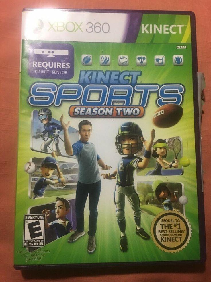 Kinect Sports Season 2 (Xbox 360) Tennis, Ski, Baseball