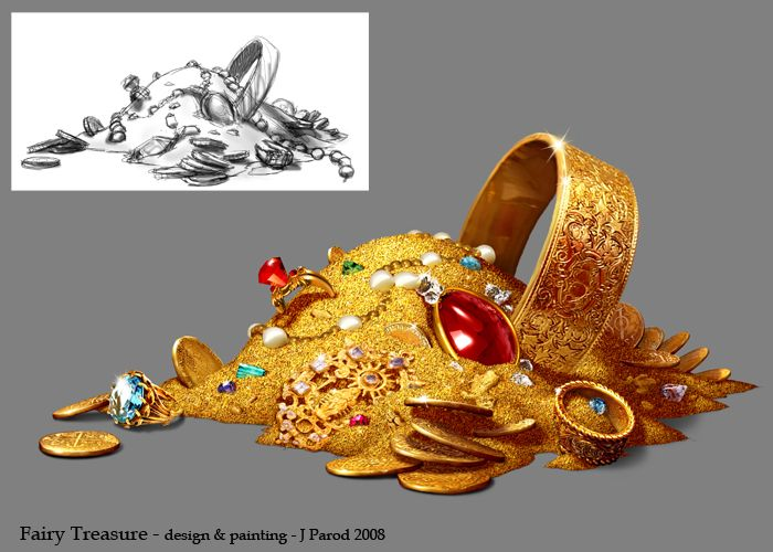 Fairy Treasure Pile, Joel Parod