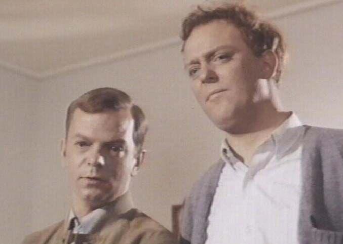 som Jacob Hansen, i Det er så synd for farmand fra 1968. (her med sin lillebror Jesper Langberg)