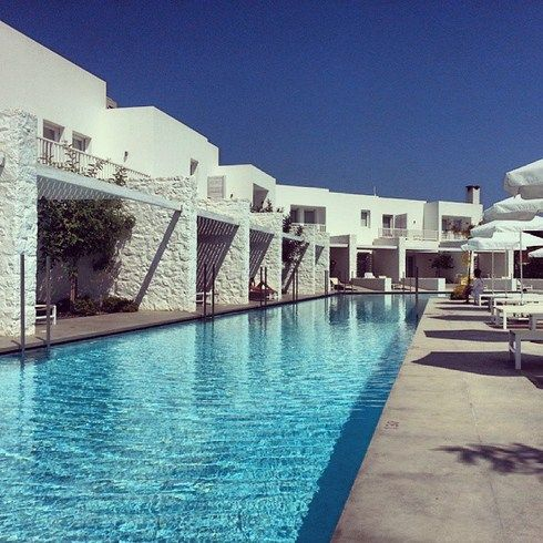 By the #pool at #PatmosAktis! #Relaxation #Summer #Patmos #Greece