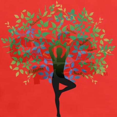 Yoga Tree Pose Women S Classic T Shirt Namaste Yoga Tattoos