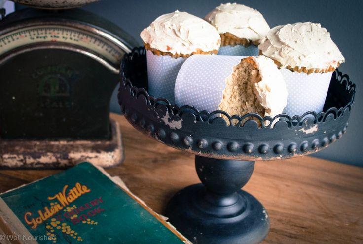 vanilla BEAN cupcakes - nourishing and delish!