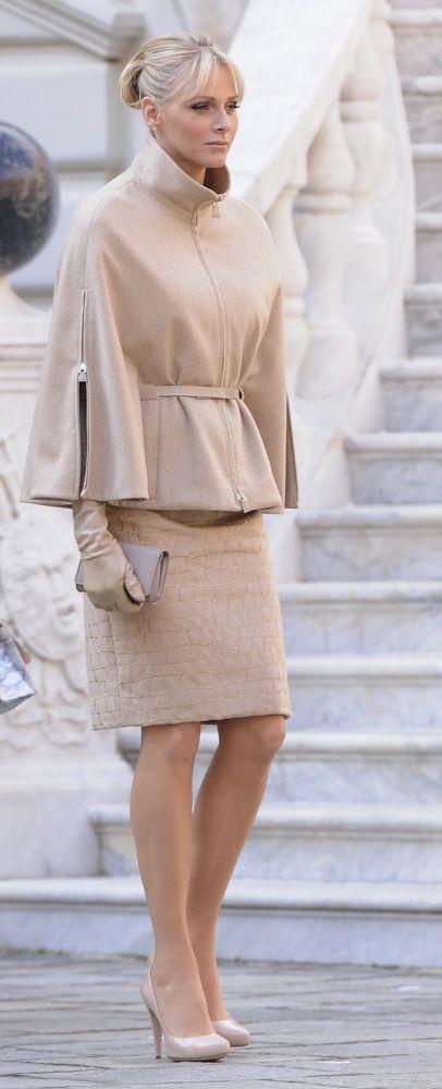 Princess Charlene Finally Steps Up Her Style Game For Monaco Grand Prix (PHOTOS)