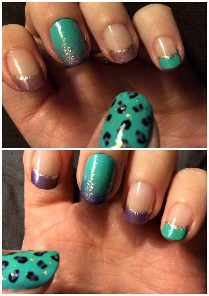 Colour changing nails