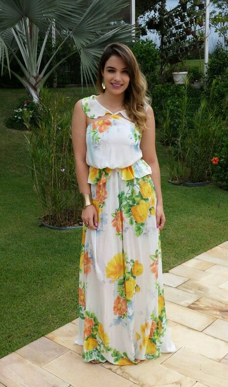#LongDress #Dress #Dresses #Floral #ModaFeminina #Long #Love #Style #AdoroFarm #FarmRio #Farm #Moda #Vestido #VestidoLongo #Thenácy