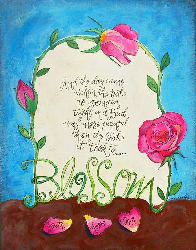 Blossoms by Sally Towers-Sybblis