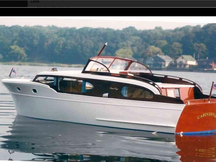 Chris Craft Model Wood Boat