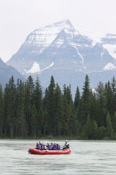 5 Awesome things to do in Jasper, white water rafting, Fraser River, Jasper. Done but would like to go back!