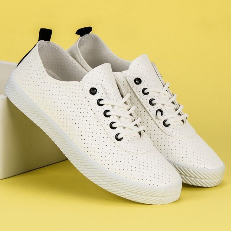 Kylie Blanc Ajoure Liees Baskets De Kylie Biale Azurowe Wiazane Trampki Formateurs Damskie Kyli Wedding Sneakers White Sneakers Sneakers