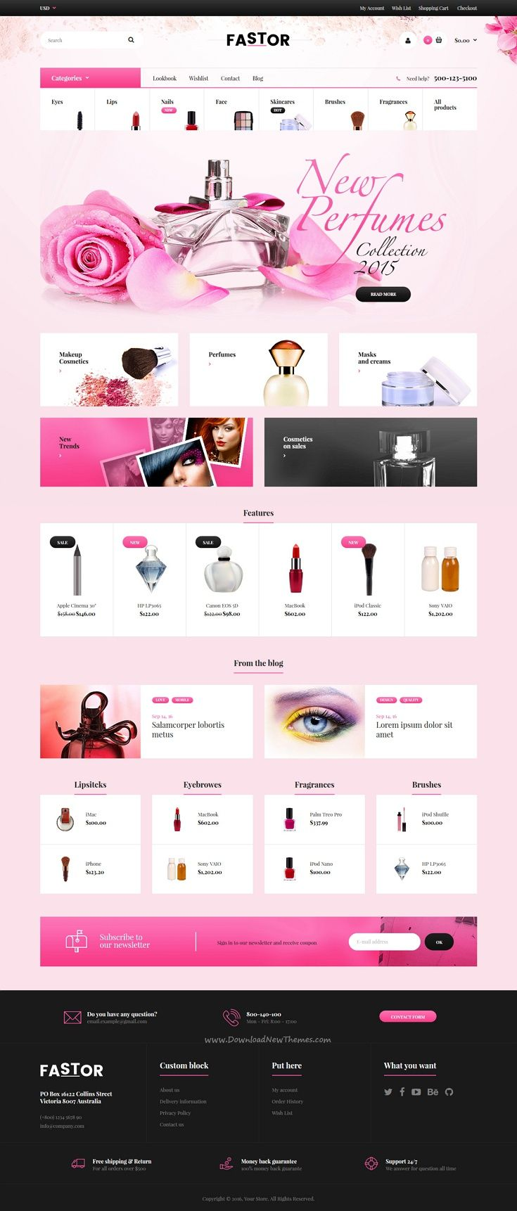Fastor is a beautifully design responsive #Shopify Theme for stunning #cosmetics #shopping eCommerce website with 50+ multipurpose homepage layouts download now➩ https://themeforest.net/item/fastor-multipurpose-responsive-shopify-theme/18389593?ref=Datasata