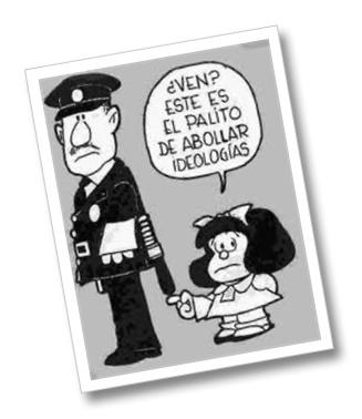Desde los estamentos más altos del poder, se encargan de remarcar que la represión preventiva está destinada para lograr controlar socialmente a través de la ley y conseguir de esa manera un estado más ágil y dinámico contra los infractores de la ley. Para los profesionales encargados de estudiar esta dinámica, los nuevos enemigos para el imaginario policial pasarían .....  http://www.aplieob.org/2013/03/represion-en-tiempos-de-democracia.html