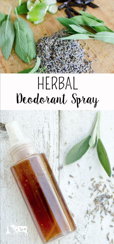 Herbal Deodorant Spray (This is the best natural deodorant that I've ever tried!)::