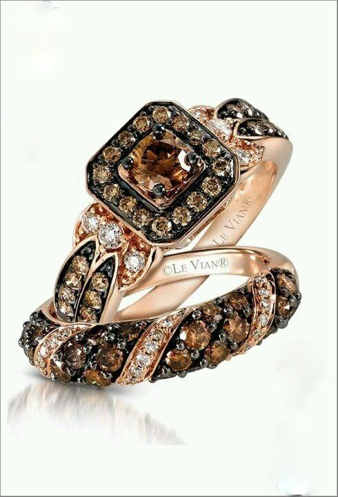 Le Vian Chocolate Diamonds.
