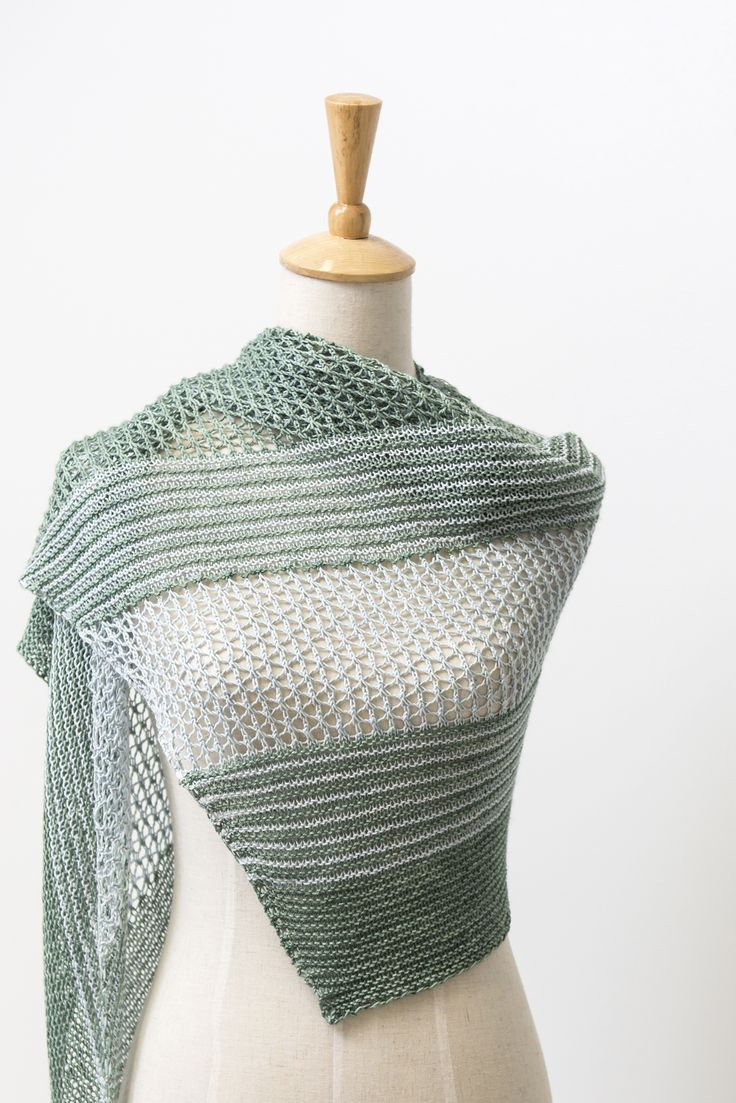 501 best scarf images on pinterest color palettes knits and ravelry sea grass shawl with dyeforyarn merinosilk fingering knitting pattern by janina bankloansurffo Gallery